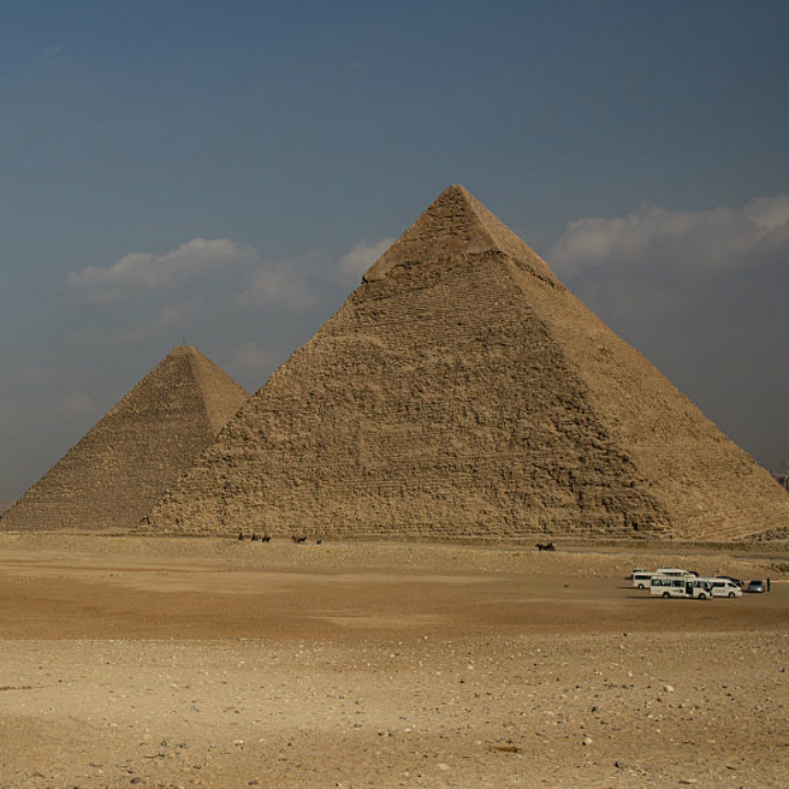 Wonders of the World: Great Pyramids of Giza