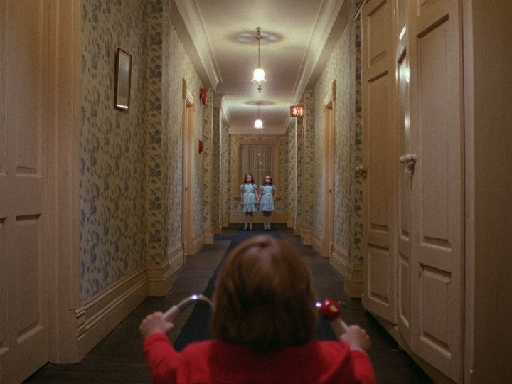the shining, twins, scary, hotel