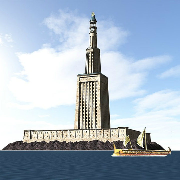 Wonders of the World: Lighthouse of Alexandria